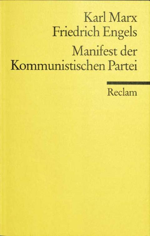 Grundsätze  des Kommunismus – Ein Nachwort von Iring Fetscher, Philipp Reclam Jun.,  1999