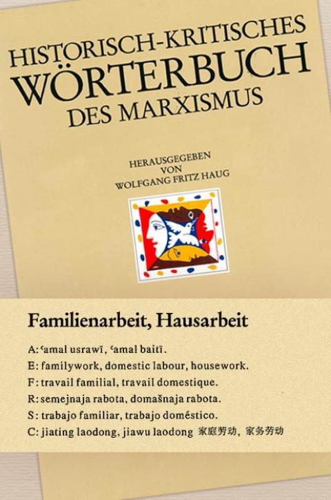 HKWM – Familienarbeit, Hausarbeit